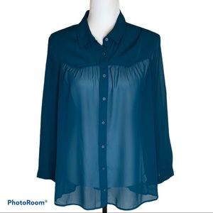 NWT Ladies American Eagle Outfitters sheer blouse